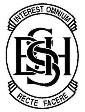 Shirley Boys' High School - Image: Shirley Boys' High School Logo