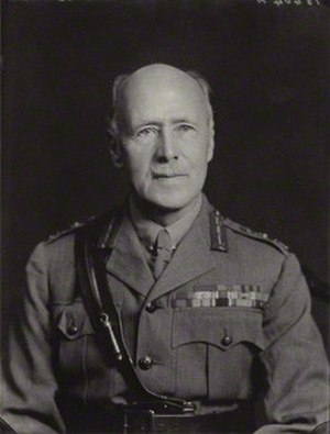George Barrow (Indian Army officer) - Image: Sir George Barrow in 1936