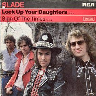 Lock Up Your Daughters (song) - Image: Slade Lock Up Your Daughters German