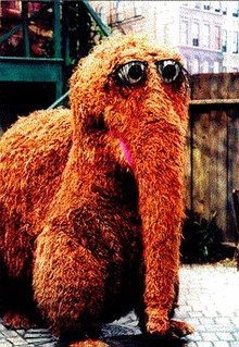 When Gillian was itty-bitty Snuffleupagus was her favorite Sesame Street...