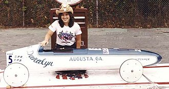 Soap Box Derby - 1984 Augusta, Georgia Champion
