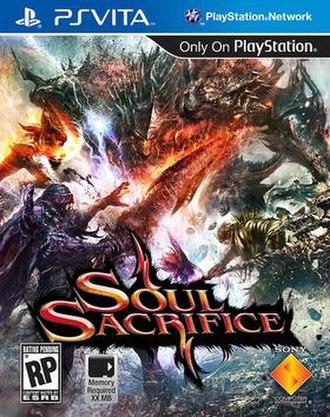 Soul Sacrifice (video game) - Image: Soul Sacrifice NA boxart