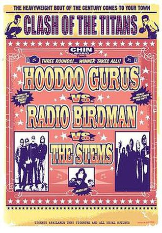 The Stems - 2007 Tour Poster
