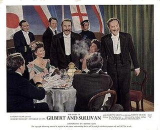 <i>The Story of Gilbert and Sullivan</i> 1953 film by Sidney Gilliat