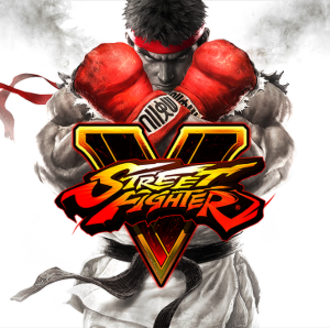 Street Fighter V - Box artwork for the original home console release, depicting Ryu