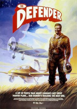 The Defender (1989 film) - Theatrical poster