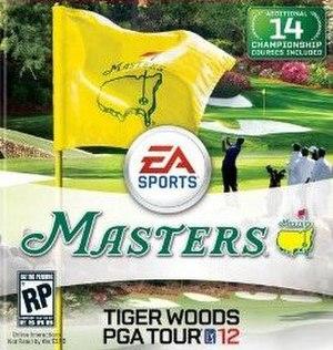 Tiger Woods PGA Tour 12 - Image: TWPGA12 Boxart
