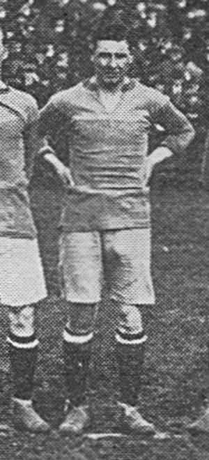 Ted Hanney - Hanney while a guest at Brentford in 1919.
