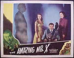 The Amazing Mr. X - Lobby card for the film