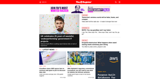 <i>The Register</i> British technology news and opinion website