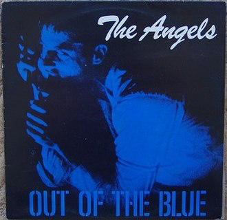 Out of the Blue (EP) - Image: The Angels Out Of The Blue