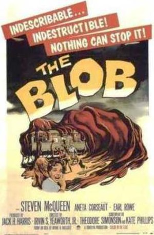 The Blob - Theatrical release poster