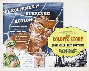 The Colditz Story - Cinema release poster