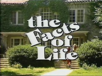 The Facts of Life (TV series) - The Facts of Life title screen for season 1. A similar shot without students was used for seasons 2–4.