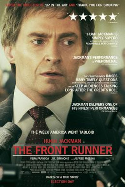 Picture of a movie: The Front Runner