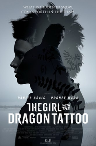 The Girl with the Dragon Tattoo (2011 film) - Theatrical release poster