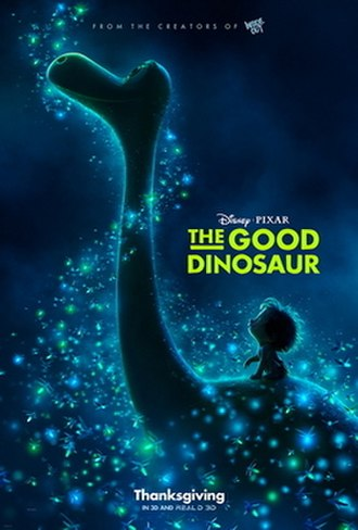 The Good Dinosaur - Theatrical release poster