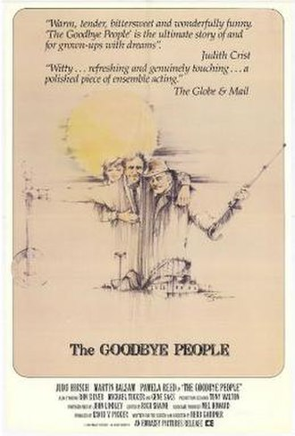 The Goodbye People (film) - Theatrical release poster