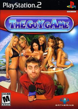 The Guy Game - NTSC PlayStation 2 cover