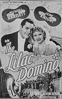 <i>The Lilac Domino</i> (film) 1937 film by Frederic Zelnik
