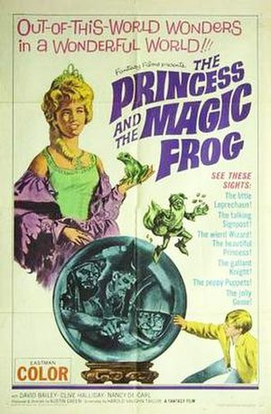 At the End of the Rainbow - Image: The Princess and the Magic Frog poster