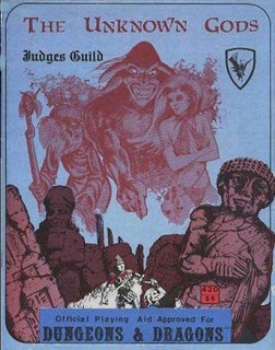 <i>The Unknown Gods</i> Role-playing game supplement