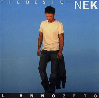The Best of Nek: L'anno zero - Image: The best of nek l'anno zero cover