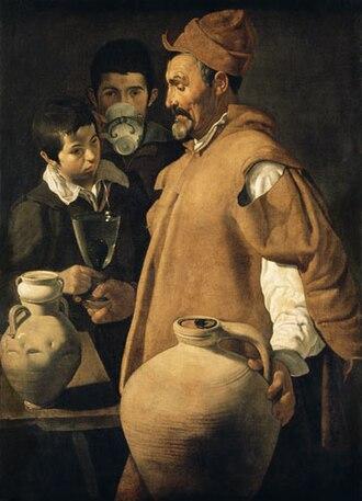 1618 in art - Image: The waterseller uffizi