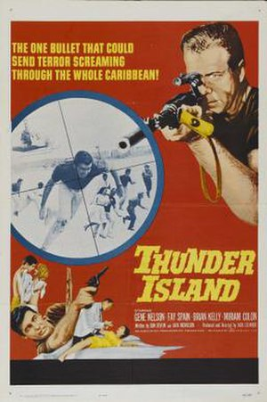 Thunder Island (film) - Theatrical release poster