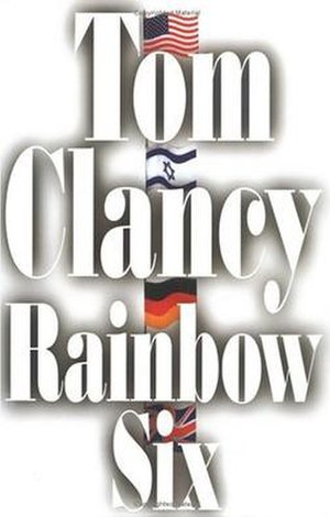 Rainbow Six (novel) - First edition cover