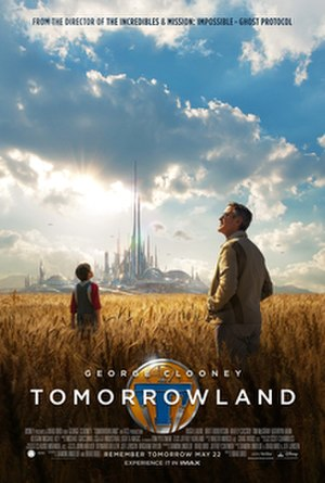 Tomorrowland (film) - Theatrical release poster