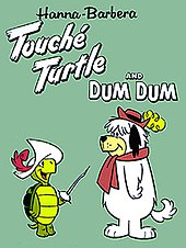 Opening credits to touch 233 turtle and dum dum cartoon