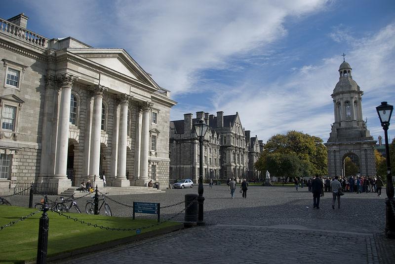 File:Trinity college dublin parliament square.jpg