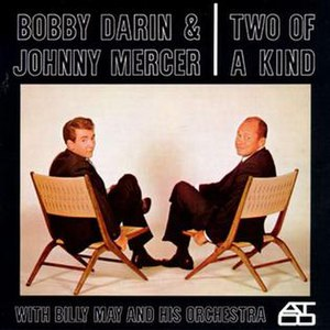 Two of a Kind (Bobby Darin and Johnny Mercer album) - Image: Two Of A Kind Mercer Darin