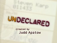 Picture of a TV show: Undeclared