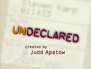 Undeclared - Image: Undeclared intertitle