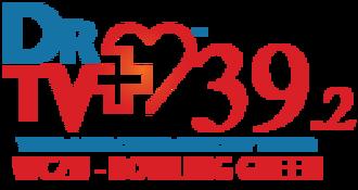 WCZU-LD - DrTV Bowling Green logo used on website during WCZU-LD2's tenure as a DrTV affiliate in 2014–2015.