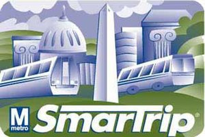 SmarTrip - Image: WMATA Smar Trip Card
