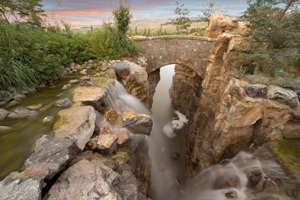 Thanksgiving Point - Image: Waterfall TPI