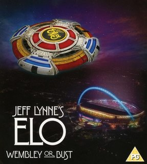 <i>Wembley or Bust</i> 2017 live album and video by Jeff Lynnes ELO