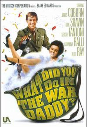 What Did You Do in the War, Daddy? - Theatrical release poster