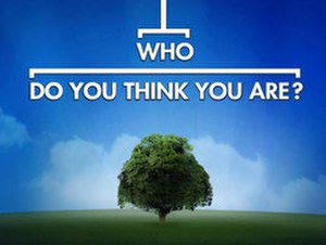 Who Do You Think You Are? (U.S. TV series) - Image: Who Do You Think You Are? (U.S. TV series)