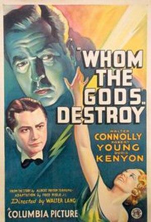Whom the Gods Destroy - Film poster