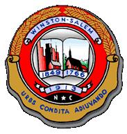 Official seal of Winston-Salem, North Carolina