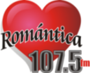 XHKOK-FM - Image: XHKOK Romantica 107.5 logo