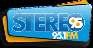 XHNH-FM - Image: XHNH Stereo 95 logo