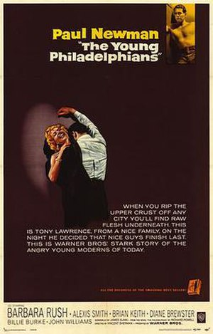 The Young Philadelphians - Theatrical release poster