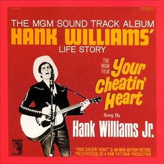 Your Cheatin' Heart (Hank Williams Jr. album) - Image: Your Cheatin Heart