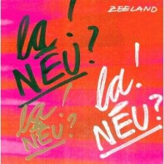 Zeeland (album) - Image: Zeeland 1997cover
