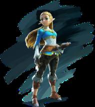 Princess Zelda video game character